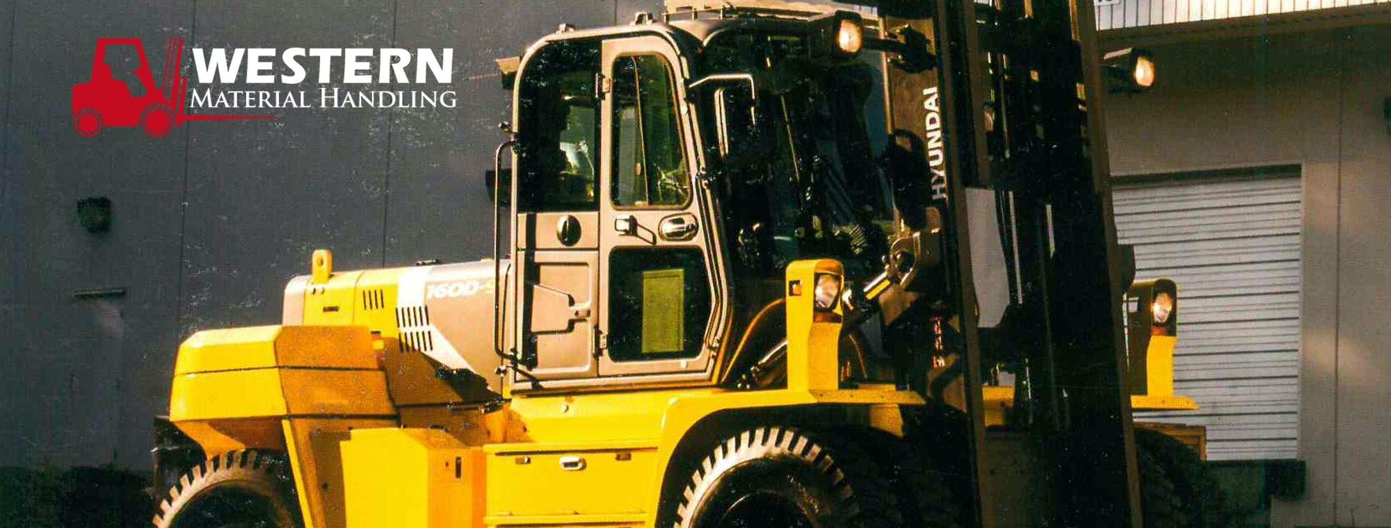Western Material Handling | Forklift Dealers | Forklifts for